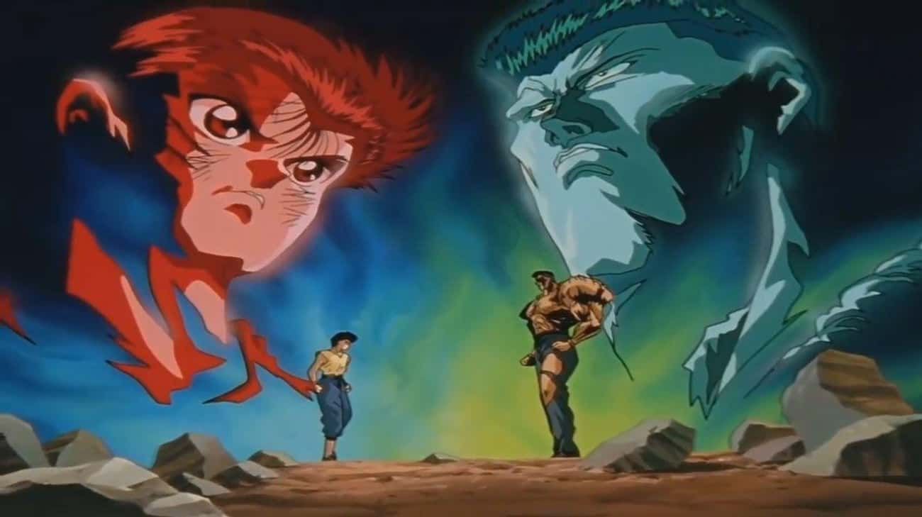 'Yu Yu Hakusho' — The  is listed (or ranked) 1 on the list These Are The Best Arcs From Your Favorite Shounen Anime