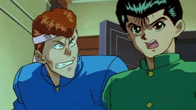 Yu Yu Hakusho is listed (or ranked) 1 on the list 20 Old School Anime That Still Hold Up Today