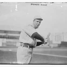 Tris Speaker is listed (or ranked) 11 on the list The Best Hitters in Baseball History