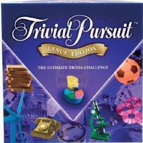 Trivial Pursuit is listed (or ranked) 2 on the list Good Educational Board Games for Kids