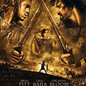 Troy is listed (or ranked) 1 on the list The Best Movies About Greek Mythology