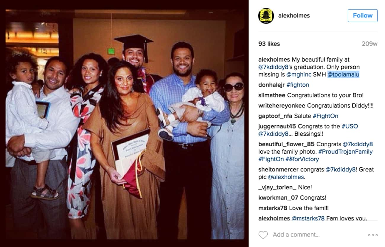Troy Polamalu is listed (or ranked) 3 on the list Pro Athletes Who Dated Siblings of Other Pro Athletes