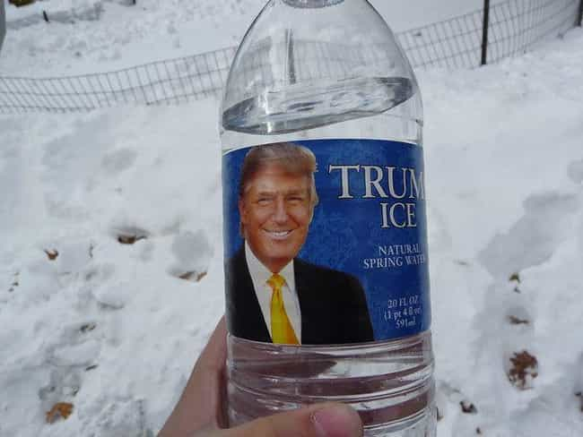Trump Ice is listed (or ranked) 5 on the list Donald Trump's 14 Most Epic Business Failures