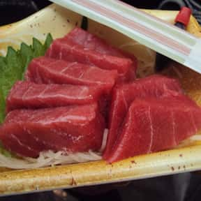Tuna is listed (or ranked) 5 on the list The Best Pescatarian Foods