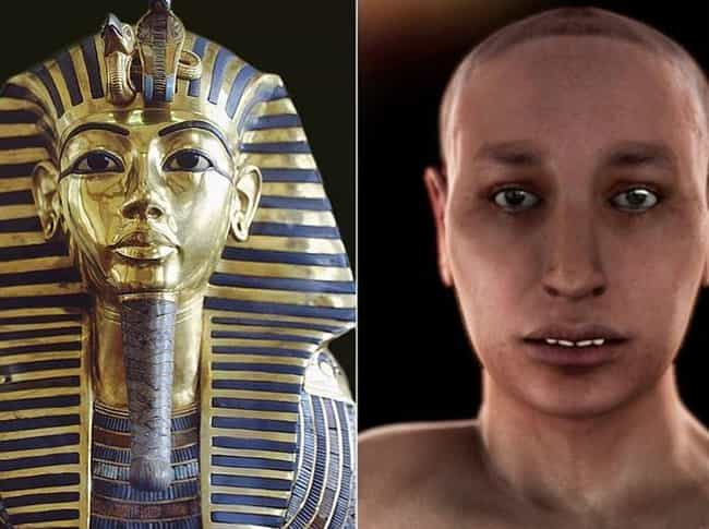 Tutankhamun is listed (or ranked) 1 on the list Groundbreaking CGI Programing Shows What Historical Figures Actually Looked Like
