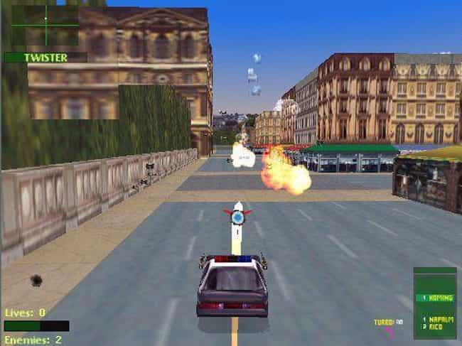 Twisted Metal 2 is listed (or ranked) 2 on the list 13 Classic Video Games That Unfortunately Haven't Aged Well