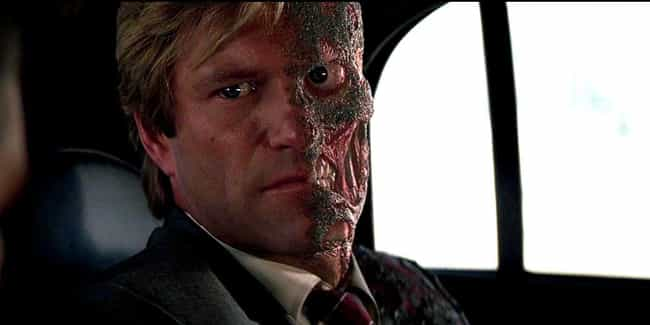 Two-Face is listed (or ranked) 2 on the list 17 Characters Who Broke Bad (Other Than Walter White)