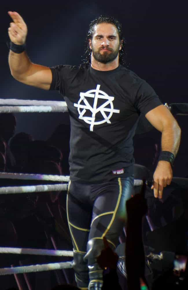 Seth Rollins is listed (or ranked) 2 on the list The Hottest Wrestlers of All Time