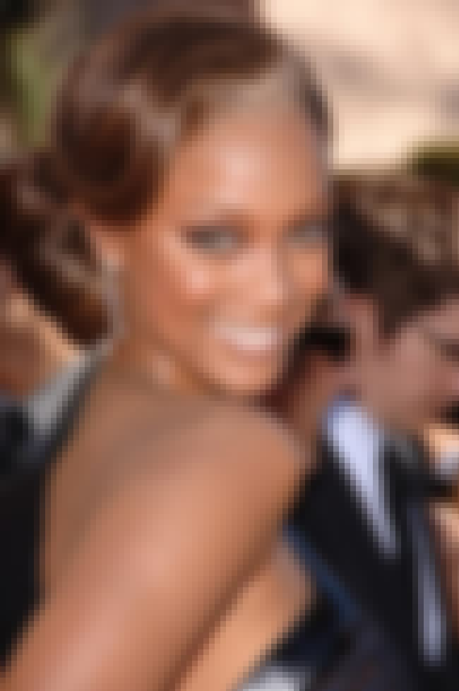Tyra Banks is listed (or ranked) 8 on the list List of Famous TV Personalities