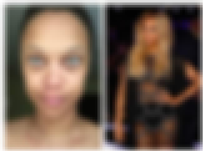 Tyra Banks is listed (or ranked) 4 on the list 24 Photos Of Celebrities With And Without Their Makeup