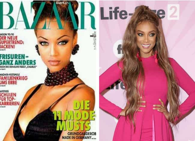 Tyra Banks is listed (or ranked) 1 on the list '90s Supermodels Who Are Out There Succeeding In Other Fields