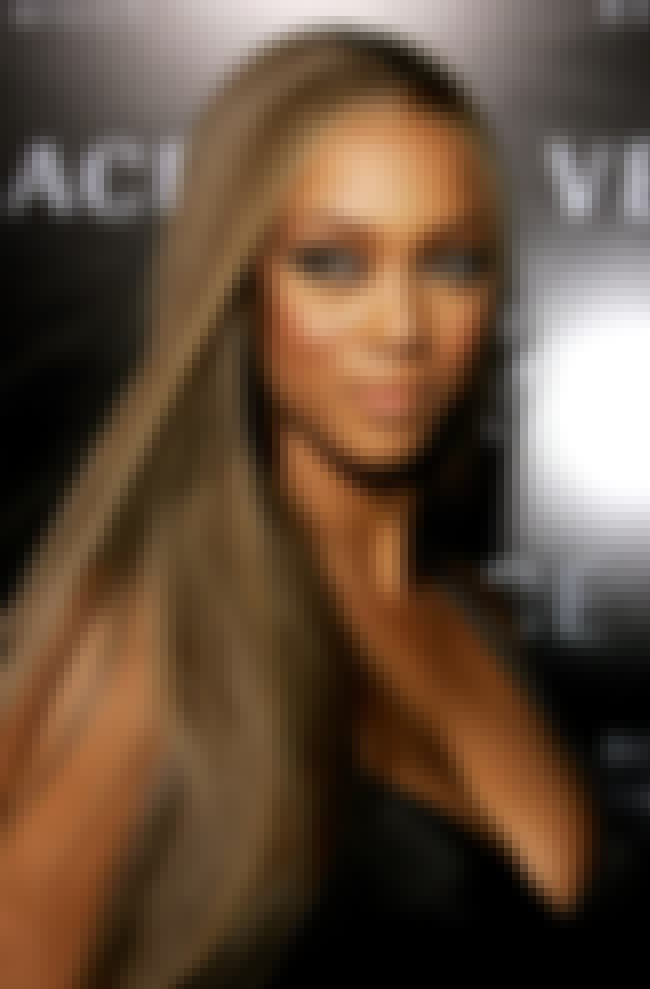 Tyra Banks is listed (or ranked) 2 on the list Famous People Who Are Allergic to Cats