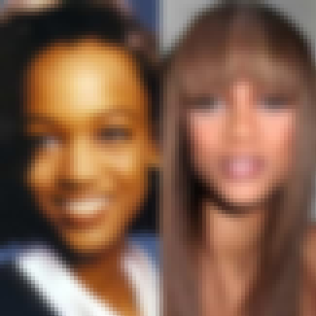 Tyra Banks is listed (or ranked) 4 on the list Celebrity Nose Jobs: Before and After