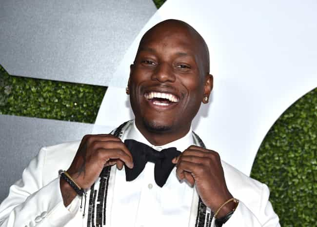 Tyrese Gibson is listed (or ranked) 3 on the list Famous Male VJs
