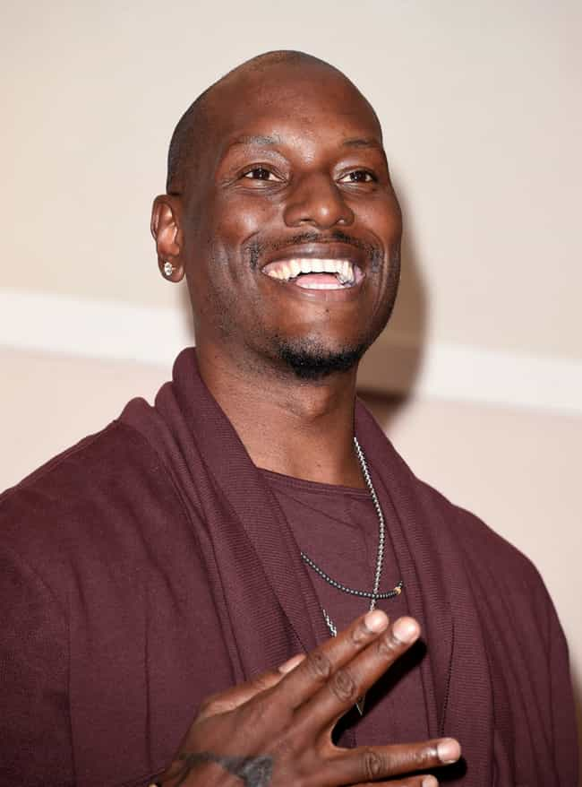 Tyrese Gibson is listed (or ranked) 3 on the list The Craziest Celebrity Impulse Buys