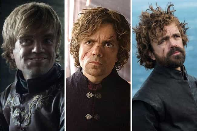 Tyrion Lannister is listed (or ranked) 2 on the list All The Main GoT Character Arcs, Ranked
