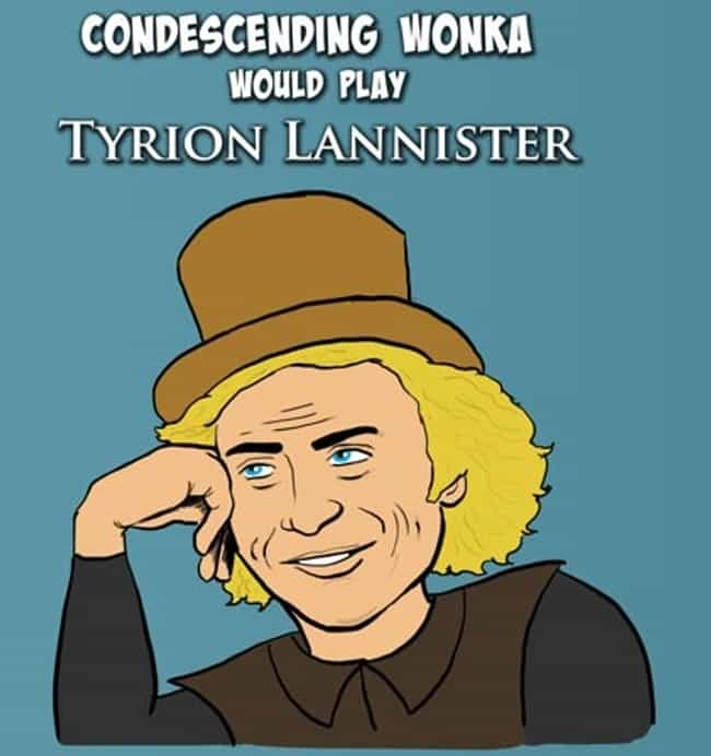 Tyrion Lannister is listed (or ranked) 1 on the list 25 Game Of Thrones Characters Reimagined As Popular Memes
