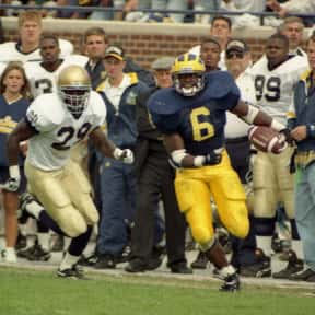 Tyrone Wheatley is listed (or ranked) 12 on the list The Best College Running Backs of the 1990s