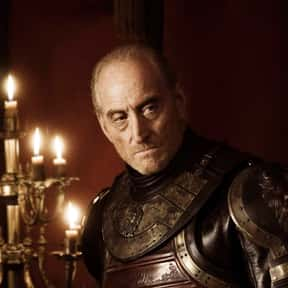 Tywin Lannister is listed (or ranked) 19 on the list The Most Hardcore Game of Thrones Characters