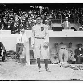 Ty Cobb is listed (or ranked) 5 on the list List of Famous Baseball Center Fielders