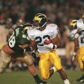 Ty Law is listed (or ranked) 6 on the list The Best Michigan Football Players of All Time