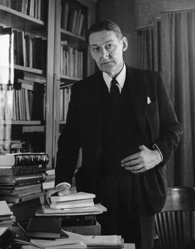 T. S. Eliot is listed (or ranked) 2 on the list Famous Male Poets