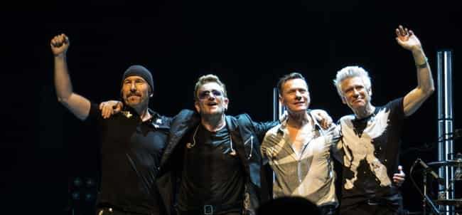 U2 is listed (or ranked) 1 on the list These Beloved Artists Have Peaked, And There's Hard Data To Prove It