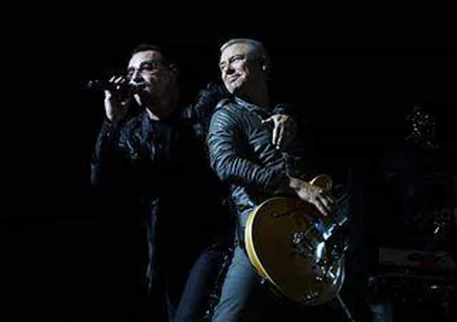 U2 is listed (or ranked) 2 on the list 20 Legendary Artists Who Overcame Critical Bashing