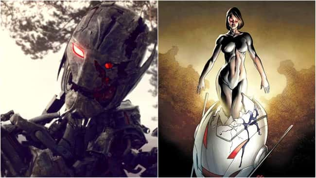 8. Ultron is supposed to be a supervillain that you can never get rid of because of his artificial intelligence. A one-and-done character in the MCU, Ultron appeared briefly in Avengers: Age of Ultron before being destroyed and never to be seen again. However, in comic books, this is not the case.