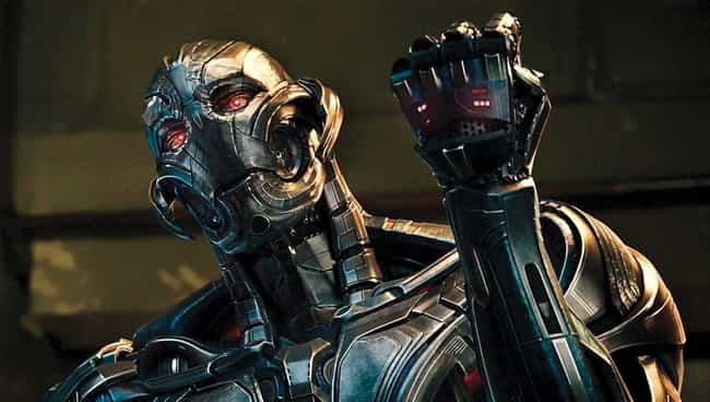 Ultron is listed (or ranked) 3 on the list The Most Ruthless Characters In The Marvel Cinematic Universe, Ranked