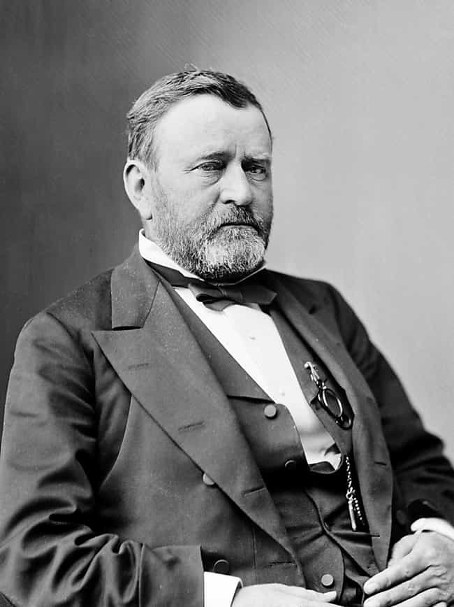 Ulysses S. Grant is listed (or ranked) 1 on the list 12 Famous People Who Made History While Being Totally Hammered
