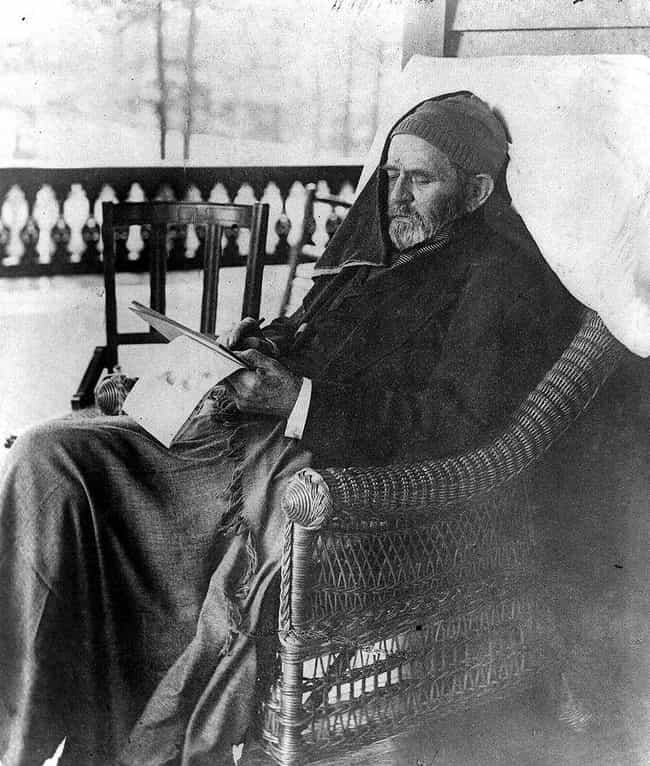 Ulysses S. Grant is listed (or ranked) 3 on the list Some Of The Last Known Photos Taken Of 17 Legendary Historical Figures