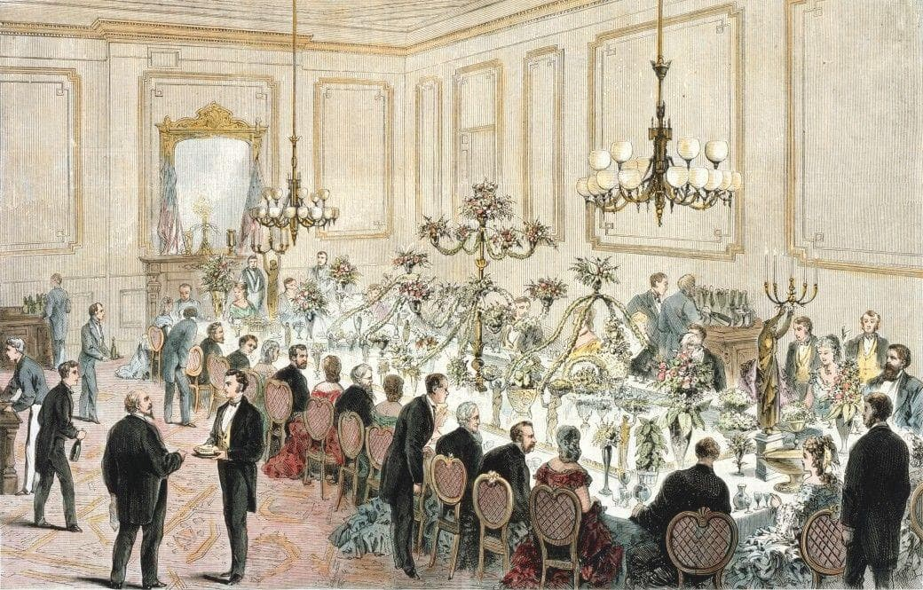 Random US Presidents Served At State Dinners