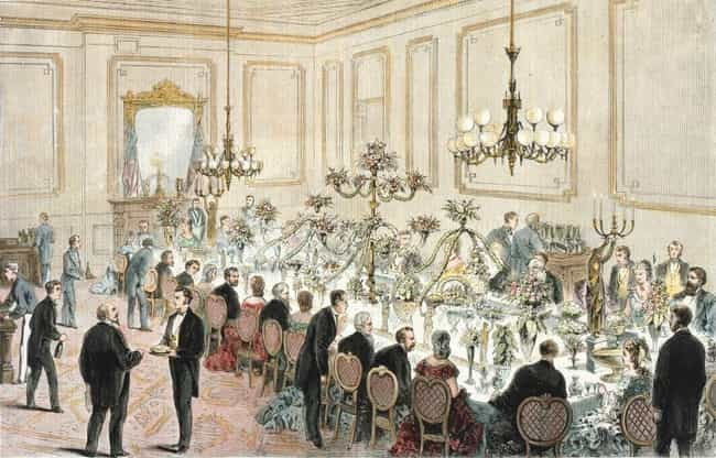 Ulysses S. Grant is listed (or ranked) 1 on the list What US Presidents Served At State Dinners