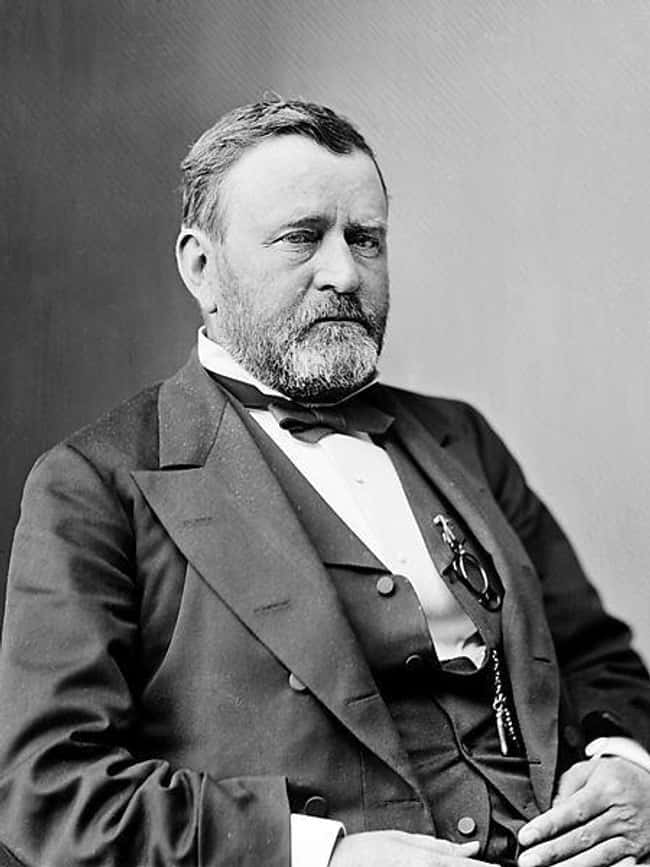 Ulysses S. Grant is listed (or ranked) 18 on the list Every U.S. President & Every Medical Problem They've Ever Had