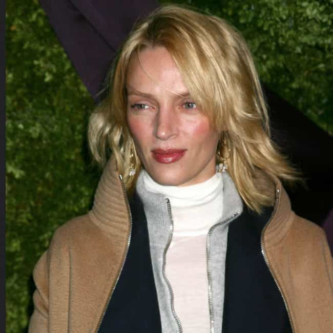 Uma Thurman is listed (or ranked) 4 on the list Famous Women Who Are Way Taller Than You Already Thought