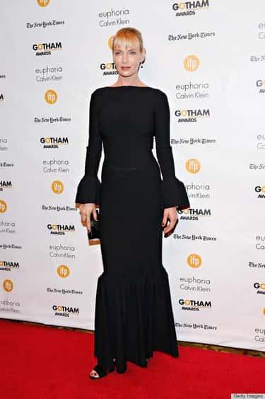 Uma Thurman is listed (or ranked) 2 on the list Female Celebrities Who Are 5'11""