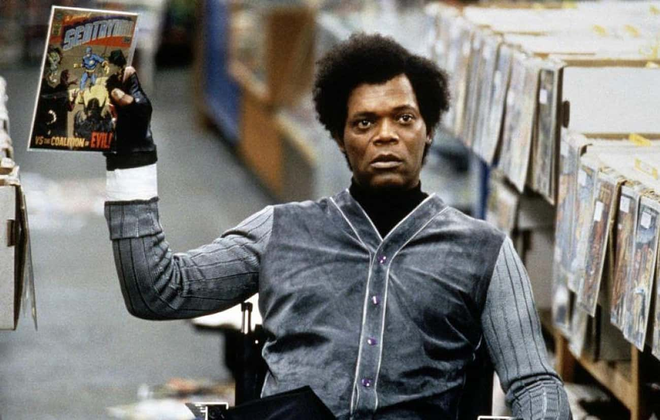 Unbreakable is listed (or ranked) 4 on the list Samuel L. Jackson's Many, Many Onscreen Wigs, Ranked By Dramatic Effect