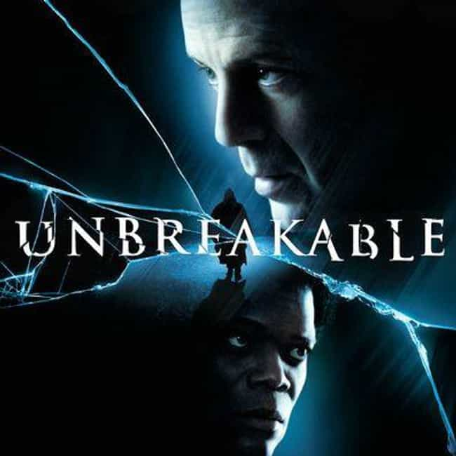 Unbreakable is listed (or ranked) 1 on the list Ten Most Underrated Movies of All-Time