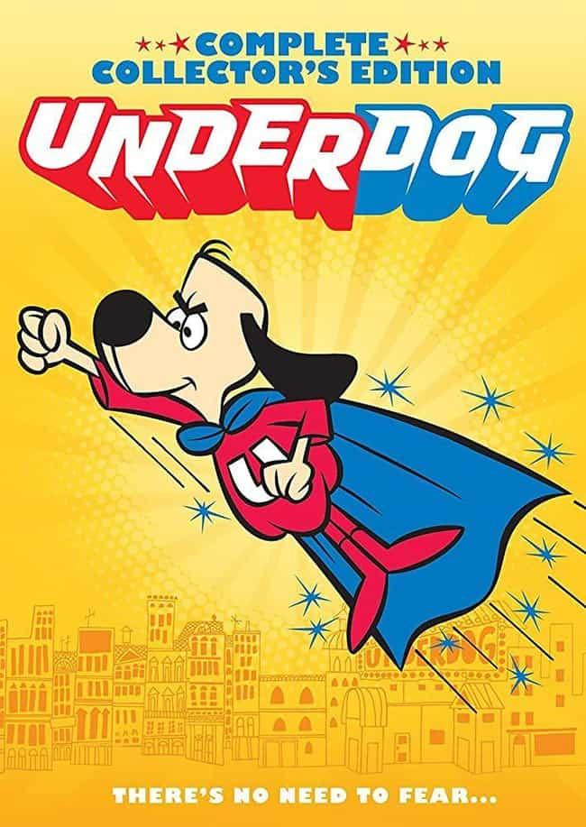 Underdog is listed (or ranked) 2 on the list What Was The Most Popular Cartoon The Year You Were Born?