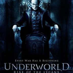 Underworld: Rise of the Lycans is listed (or ranked) 14 on the list The Greatest Vampire Movies of All Time