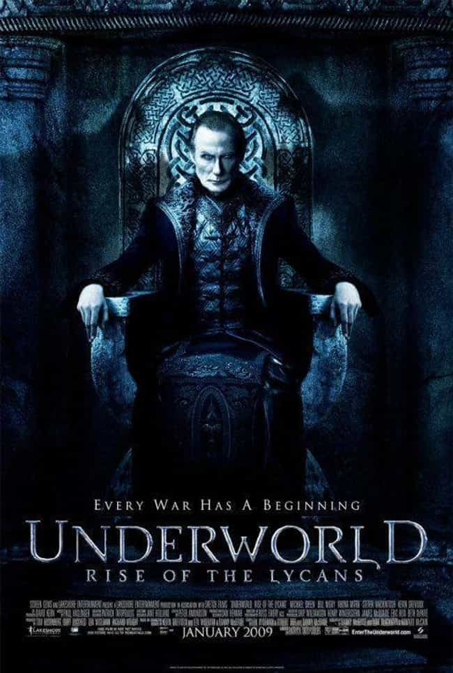 Underworld: Rise of the Lycans is listed (or ranked) 3 on the list Every 'Underworld' Movie, Ranked Best to Worst