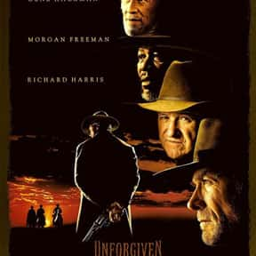 Unforgiven is listed (or ranked) 1 on the list The Best '90s Western Movies