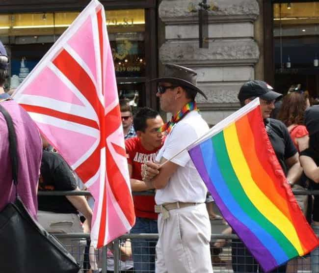 United Kingdom is listed (or ranked) 3 on the list Countries Where Gay Marriage is Legal
