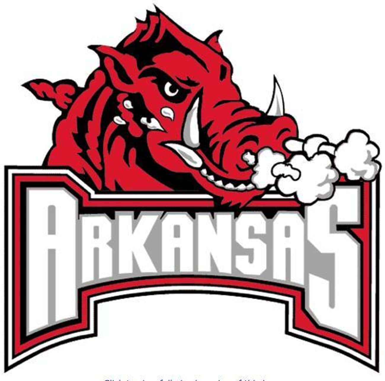 University of Arkansas is listed (or ranked) 2 on the list All SEC Schools