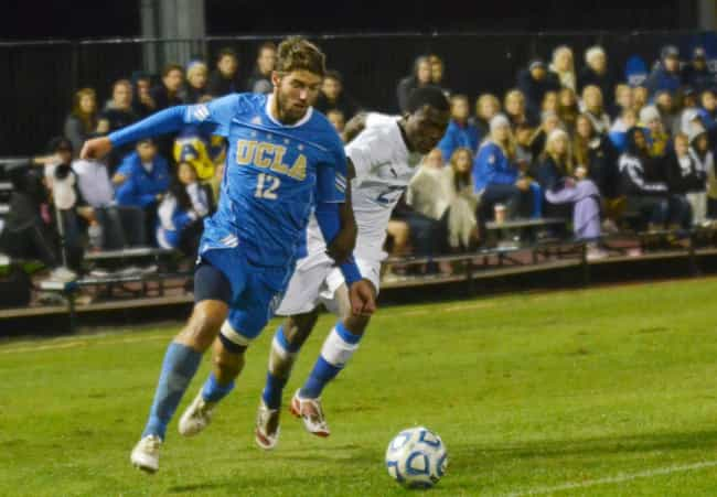 University of California... is listed (or ranked) 1 on the list The Top Soccer Colleges
