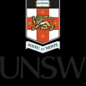 University of New South Wales is listed (or ranked) 2 on the list Optometry Schools from Around the World