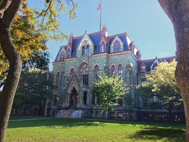 University of Pennsylvania is listed (or ranked) 4 on the list Oldest Universities In The US