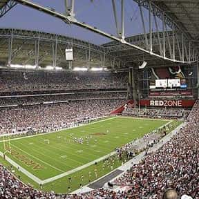 University of Phoenix Stadium is listed (or ranked) 10 on the list The Best NFL Stadiums