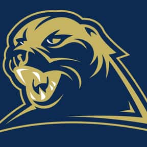 University of Pittsburgh is listed (or ranked) 1 on the list Panther Mascot School List